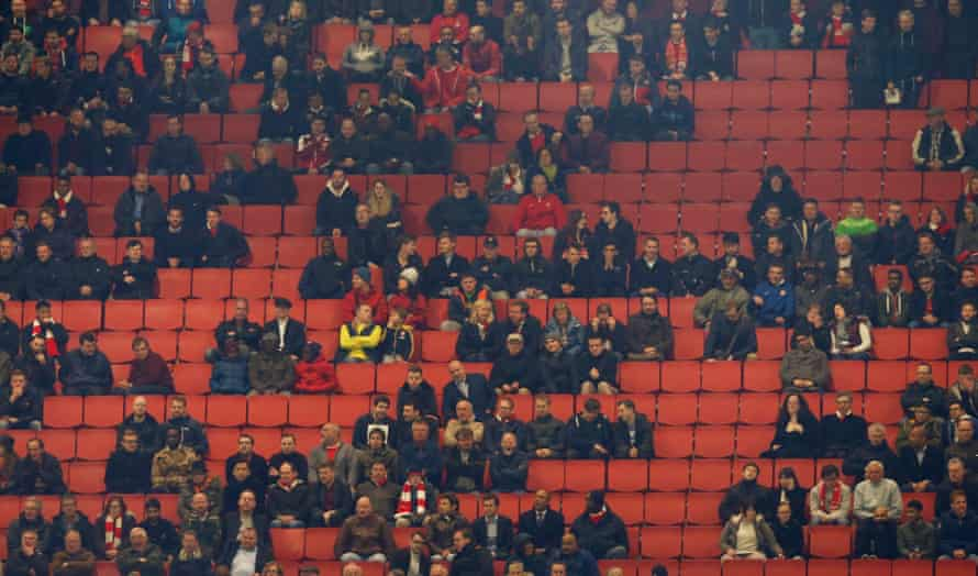 Another full house at the Emirates.