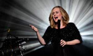 Adele at the NRJ music awards