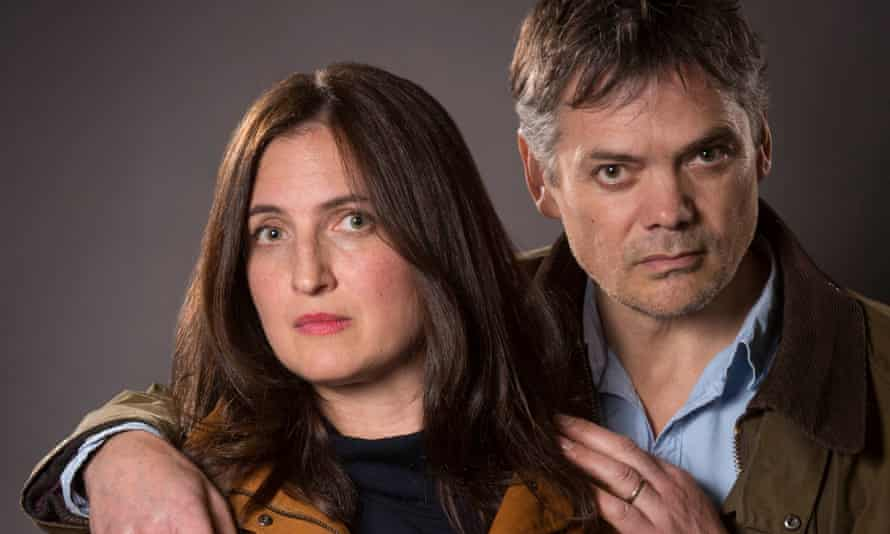 Helen Archer, played by Louiza Patikas, and her on-air husband, Rob Titchener, played by Timothy Watson.