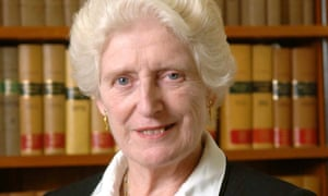 Lady Butler-Sloss, a former president of the high court's family division.