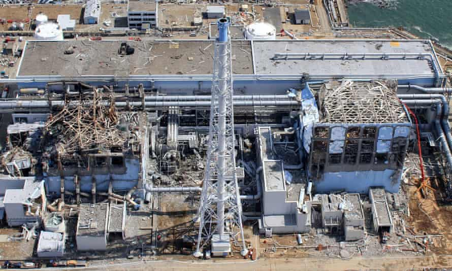 Fukushima power station after the 2011 disaster. A spike in thyroid cancer among local children has been attributed to screening by ultrasound equipment.