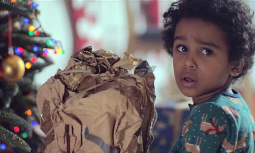 A still from the John Lewis Christmas Advert 2017.