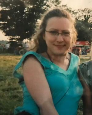 Sharon Brennan at Glastonbury in 2005