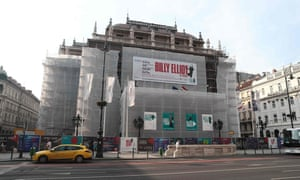 Fifteen performances of Billy Elliot in Budapest have been cancelled.