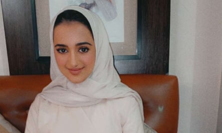 Sarah Aljabri on her birthday on 6 March 2020, 10 days before her disappearance.