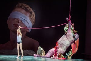 Allison Cook (Salome) in Salome by Richard Strauss at London Coliseum