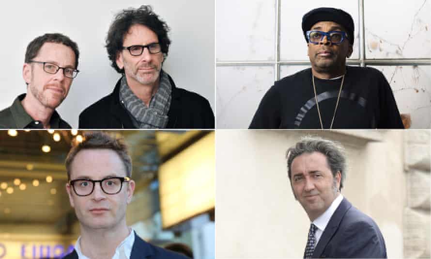 Joel and Ethan Coen, Spike Lee, Paolo Sorrentini and Nicolas Winding Refn.