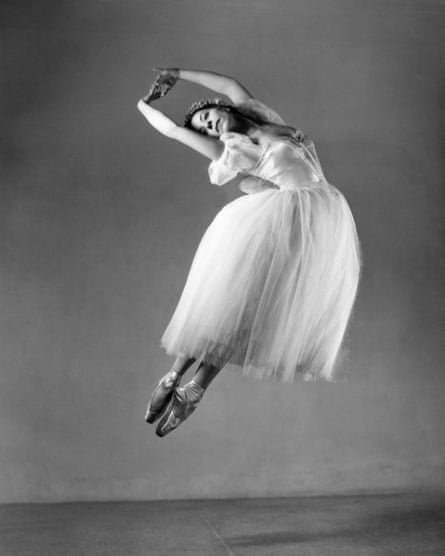 Alicia Alonso as the title character in Giselle, c1947.