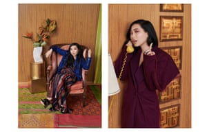 Awkwafina fashion shoot