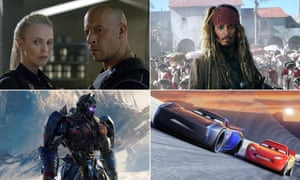 Sequel opportunities: Pirates of the Caribbean: Dead Men Tell No Tales, Cars 3, The Fast and the Furious and Transformers: The Last Knight.