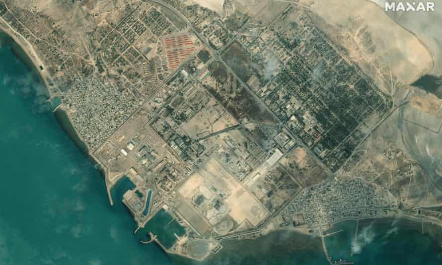 Iran's Bushehr Nuclear Power Plant.