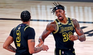 Nba Finals 2020 Game 2 Miami Heat V Los Angeles Lakers Live Sport The Guardian