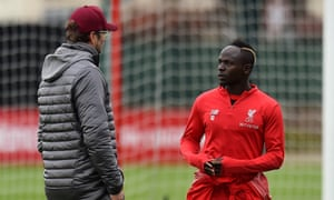 Sadio Mané, right, has followed Roberto Firmino and Mohamed Salah in signing a new deal. 'No club can come and ask for these players,' Jürgen Klopp claimed.