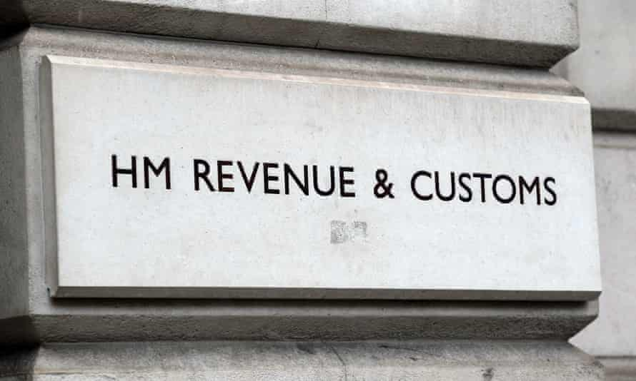 HMRC sign on building