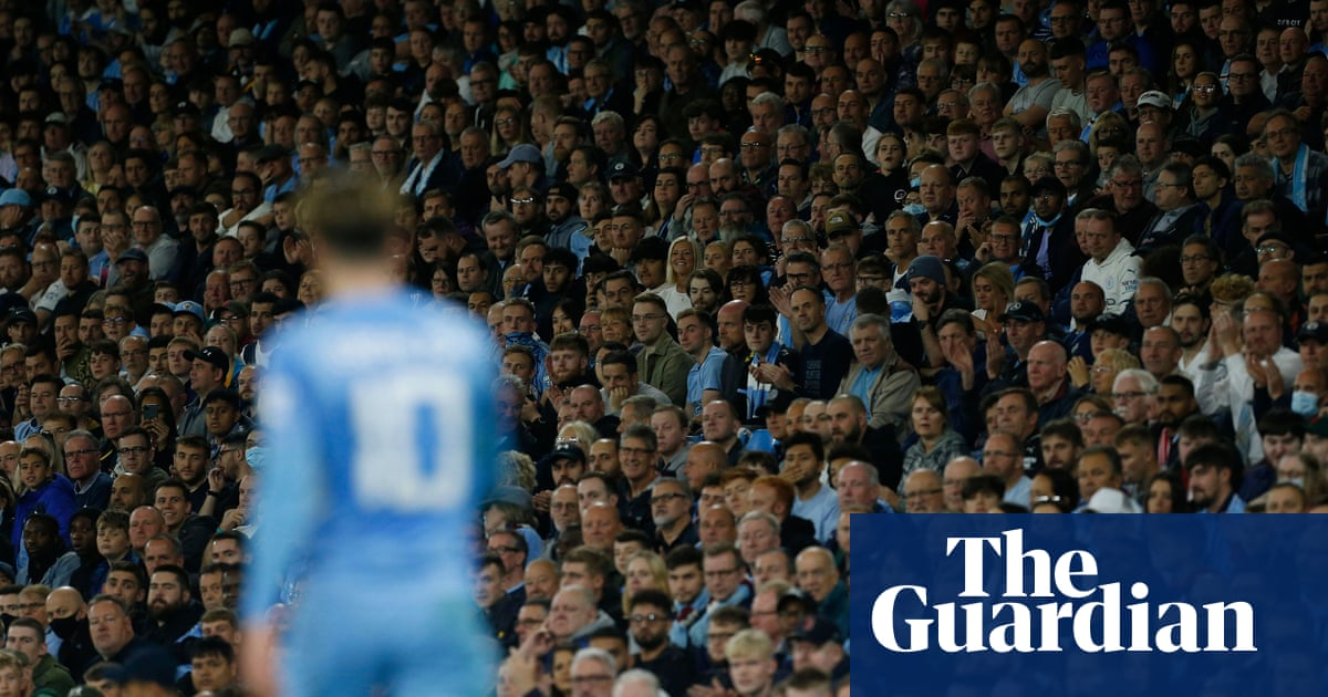 Manchester City fans pull up Guardiola for comments on home attendances