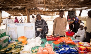 Ahmed Mohamdeen, 58, at Nyala's main market