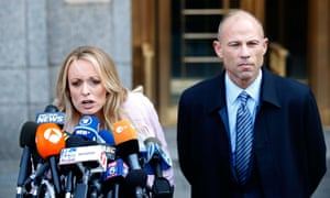 Michael Avenatti with Stormy Daniels in April. 'We have only scratched the surface in his case.'