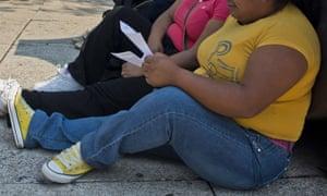 Las mujeres en la Ciudad de México. La ONU estima que las cuestiones impulsadas por la crisis de la obesidad le costará al país $ 13 mil millones al año.