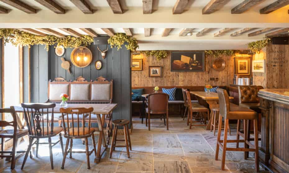 the Frogmill cotswolds dining room