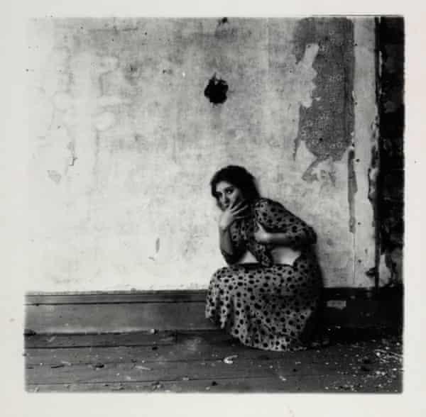 Untitled, 1975-80, by Francesca Woodman.