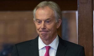 Tony Blair arrives at Westminster.