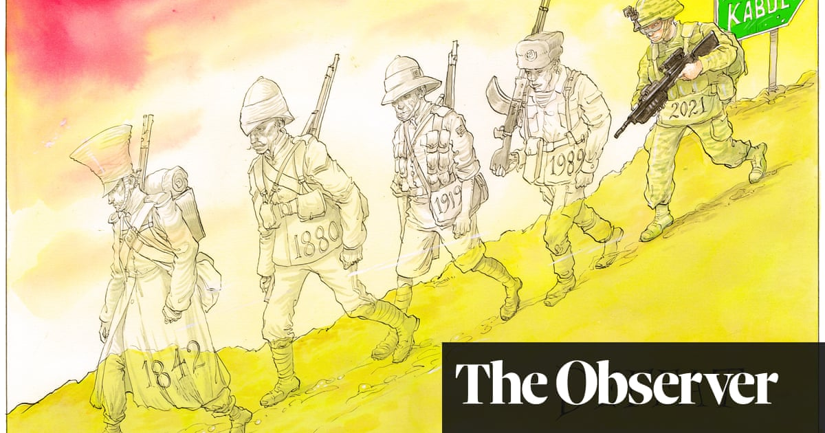 The ghosts of Afghan conflicts past –cartoon