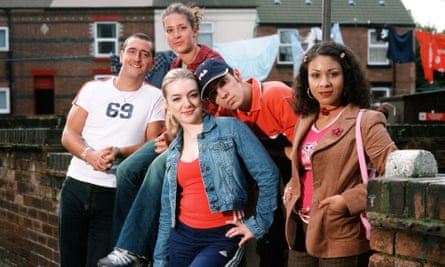The cast of Two Pints of Lager and A Packet of Crisps.