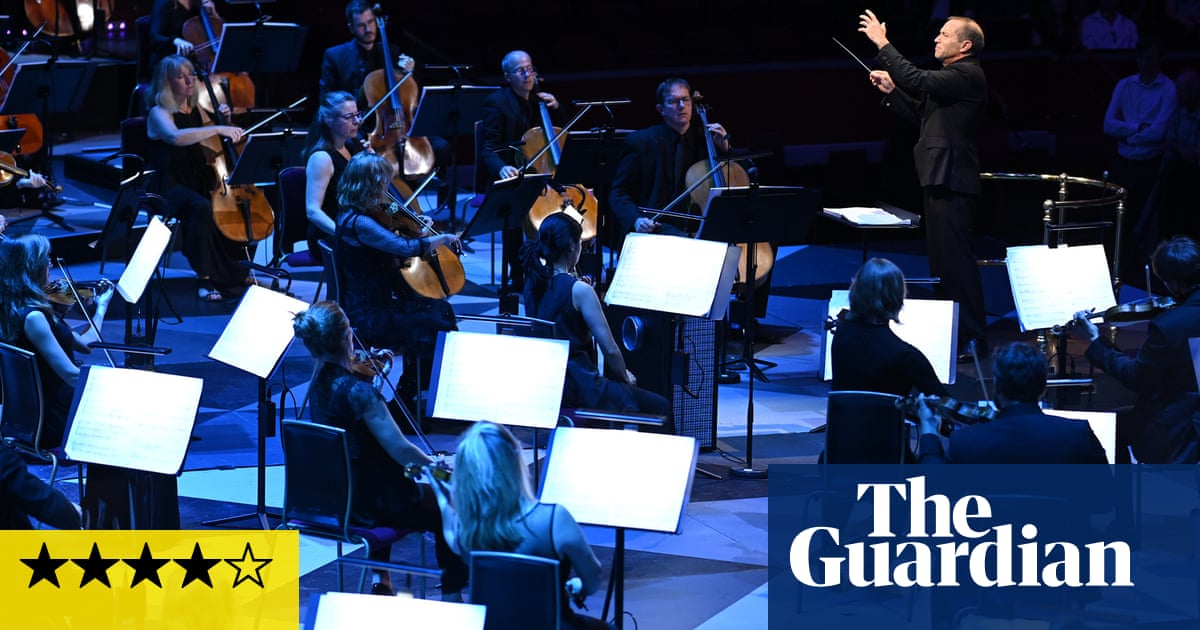 Proms Festival Orchestra/ Wigglesworth review – jubilant one-off