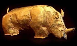 British Museum may seek loan of the golden rhinoceros of