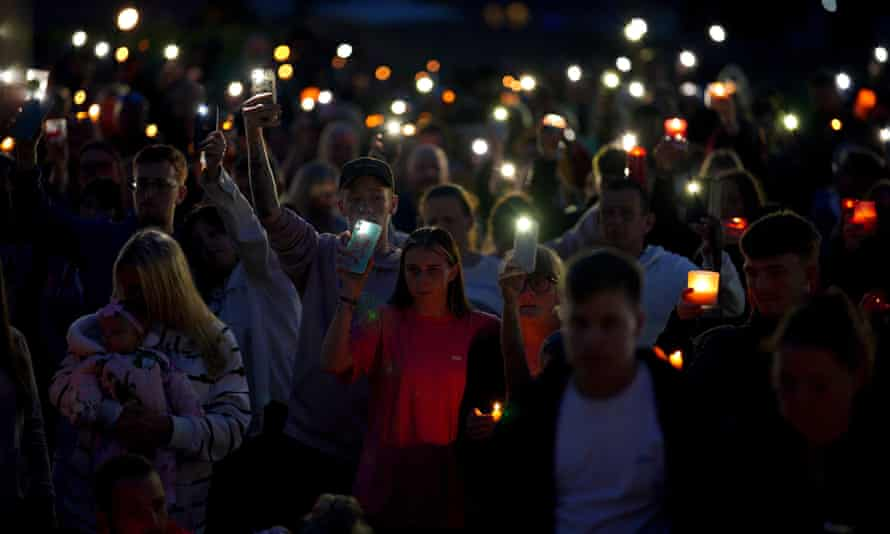 A vigil for the victims of the worst mass shooting in the UK for more than 10 years.