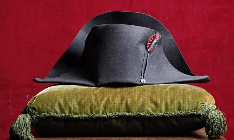 One of Napoleon Bonaparte's military hats.