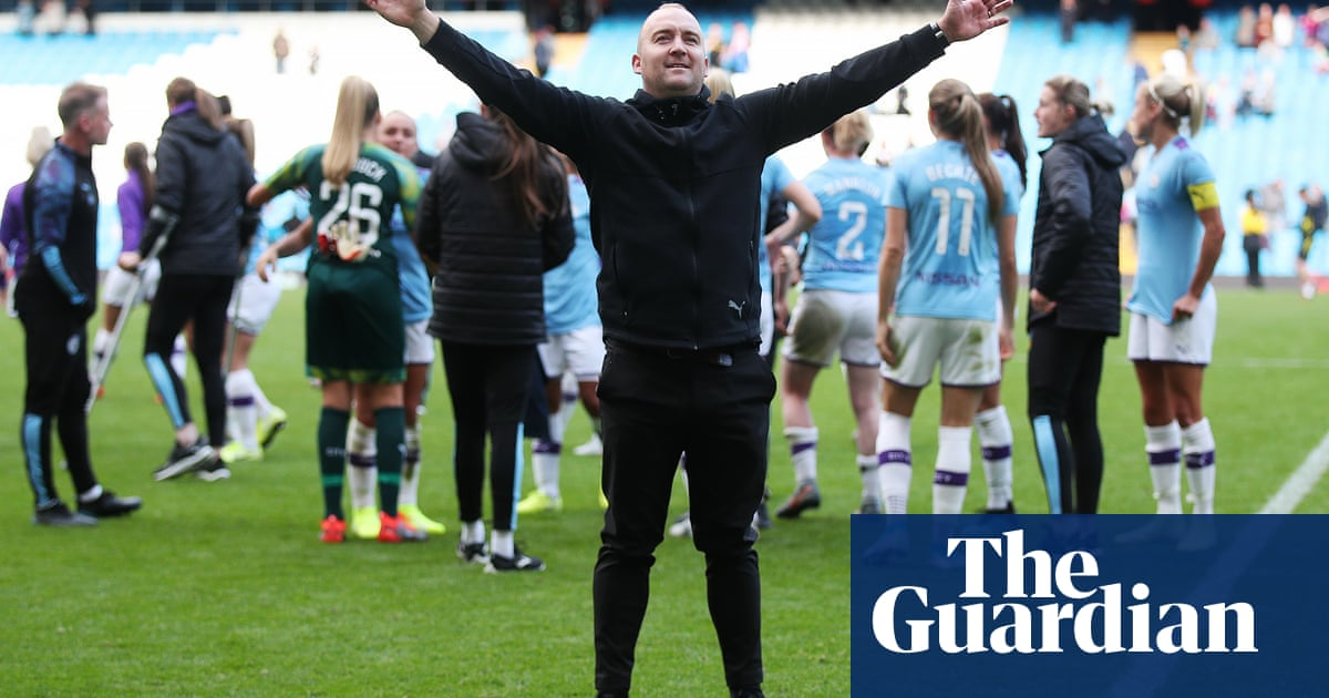 Now seems to be an odd time for Nick Cushing to leave Manchester City | Suzanne Wrack