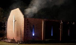 Mount Zion African Methodist Episcopal church fire