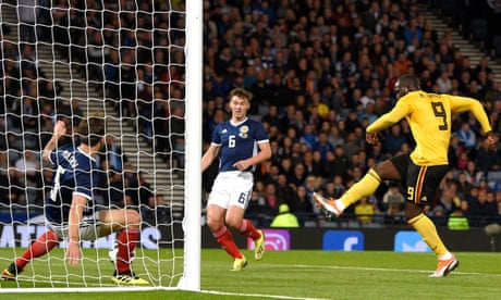 Sparse crowd at Hampden see Alex McLeish's men put to the sword thanks to rampant second-half display by Belgians