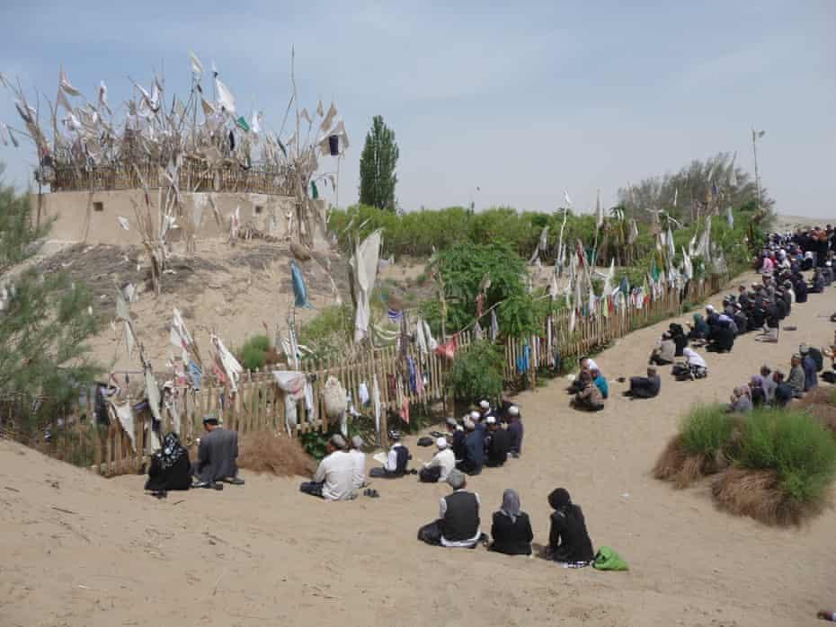 Imam Asim shrine festival in 2010.