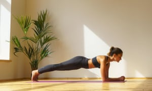 Planking uses more muscles at the front, back and side of your core than sit-ups or crunches