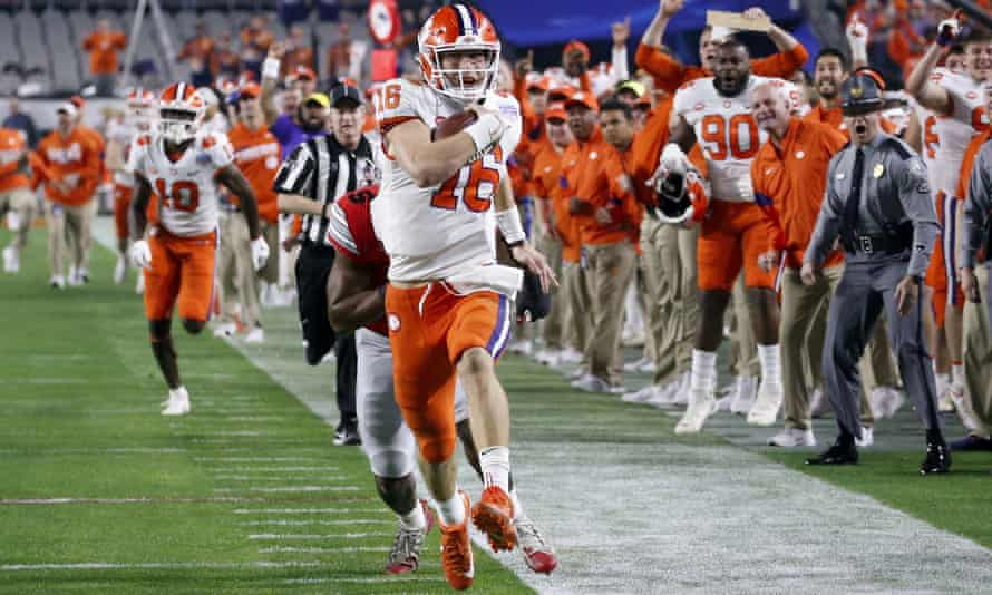 Trevor Lawrence is far ahead of the competition in this year's NFL draft