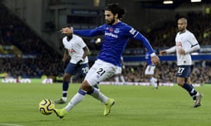 Everton's André Gomes suffered a horrific injury against Spurs and is expected to be for at least a year.