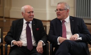 Scott Morrison says John Howard's actions reminded Australians they have a responsibility to prevent domestic violence