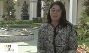 cilia flores Venezuela tv show
