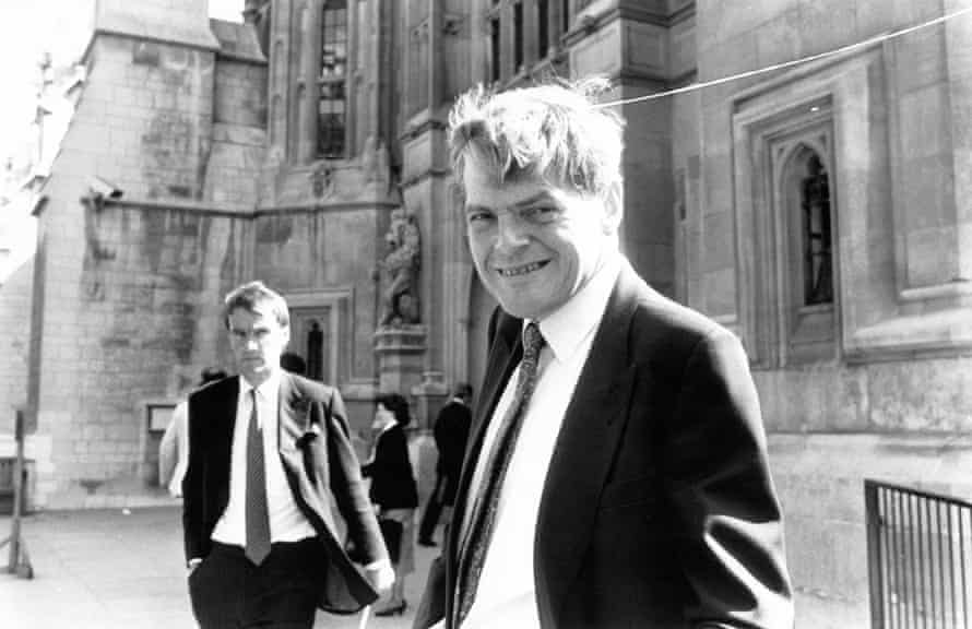 Peter Preston at House of Lords in 1988