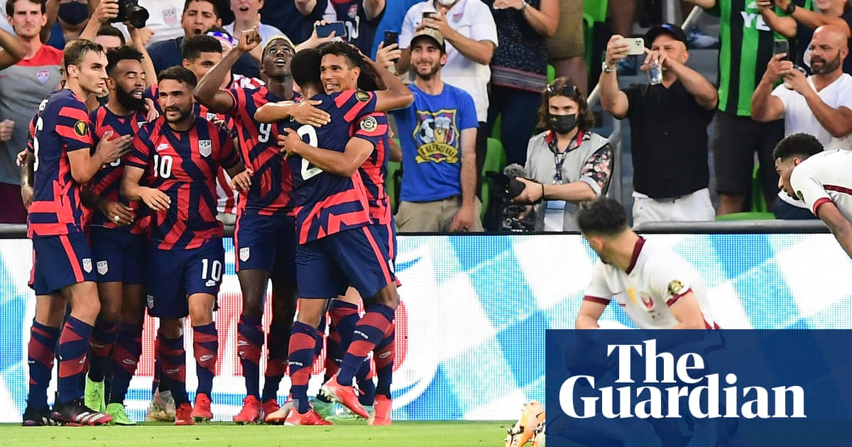 Gyasi Zardes' late strike lifts US over Qatar into record 12th Gold Cup final