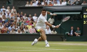 Raonic focuses as he prepares to return to Federer.