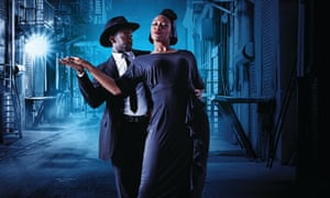 The UK's first all-black cast production of Guys and Dolls.