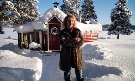 Sonja Isaksson, Carl Beech's neighbour in Sweden.