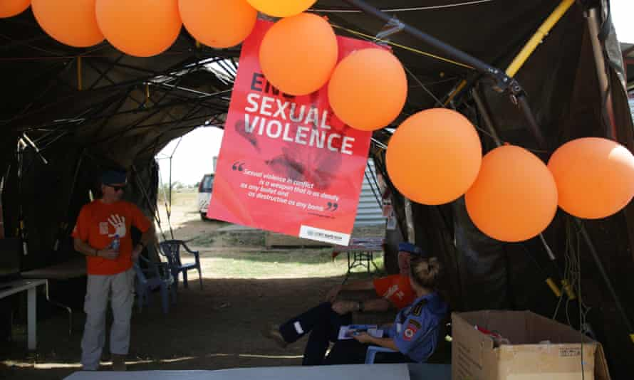 The UN mission in South Sudan takes part in the 16 Days of Activism Against Gender-Based Violence campaign in November 2018.