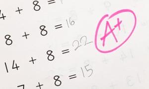 school grade maths test