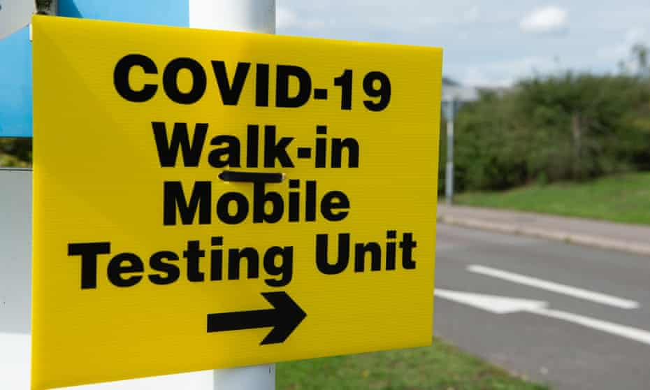 The rise in Covid-19 cases is only partly explained by an increase in testing, warn experts.