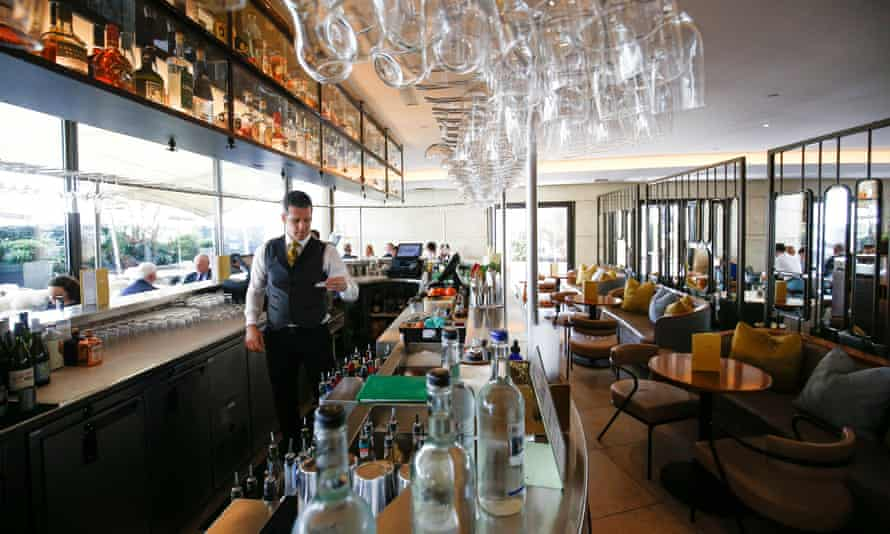 The Coq d'Argent restaurant in the City of London