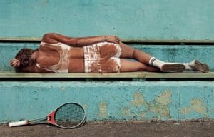 The Czech professional tennis player Petra Kvitová